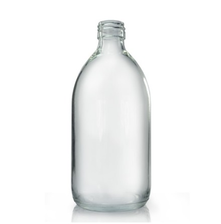 Glasflaska 500 ml - klar