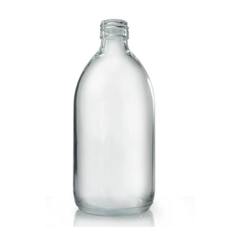 Glasflaska 500 ml - klar