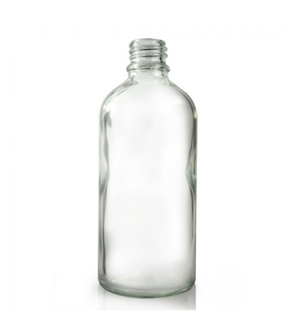 Glasflaska 100 ml - klar