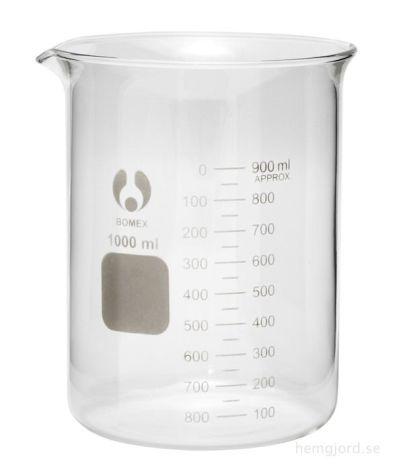 Mätbägare, 1 liter