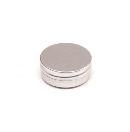 Aluminiumdosa med slät kant - 30 ml