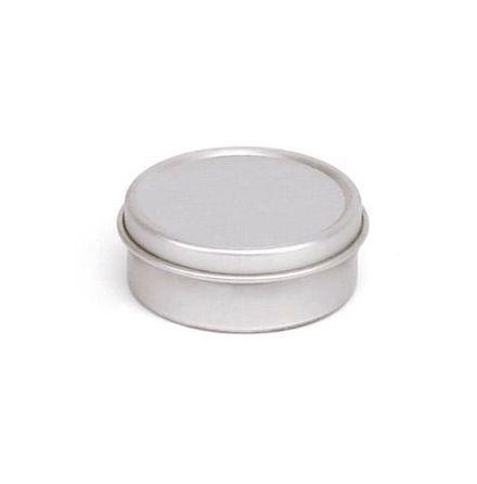 Aluminiumdosa 10 ml - slätt lock