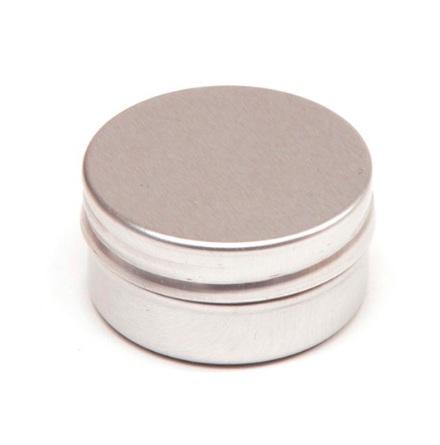 Aluminiumdosa med slät kant - 10 ml