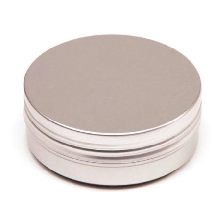 Aluminiumdosa med slät kant - 60 ml