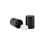 Roller - svart, 18 mm, plastkula