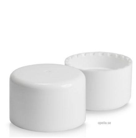 Kapsyl - vit, 24 mm med insats