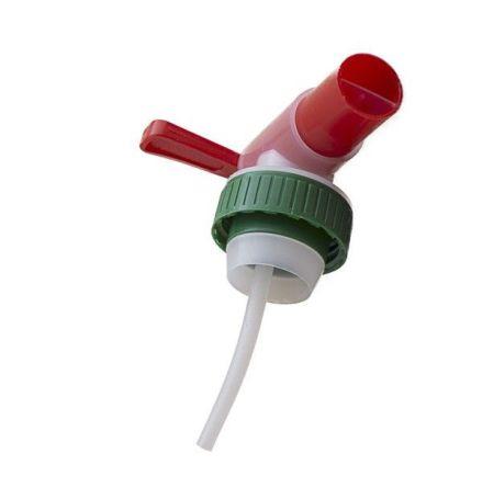 Tappkran - grön/röd, 40 mm