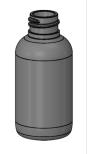 PET-flaska - 50 ml