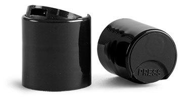 Kapsyl - svart, 20 mm, trycklock