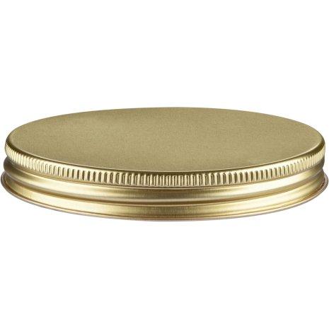 Aluminiumlock - guld, 70 mm